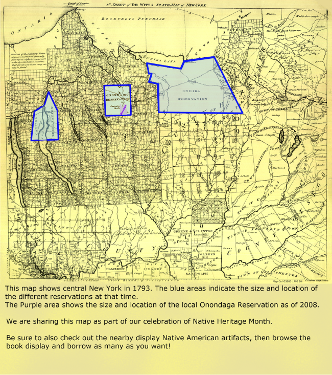 Map showing current reservation compared to 1793
